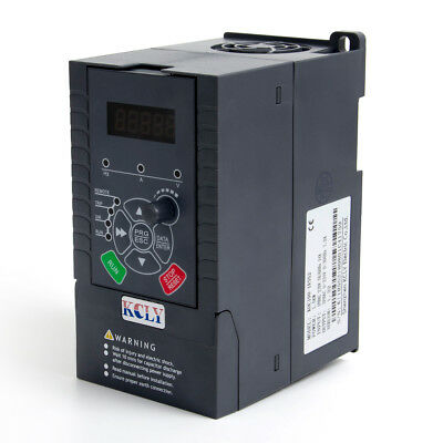 1.5KW  2HP VFD 7A 220V Single Phase Variable Speed Drive VSD Drive Inverter
