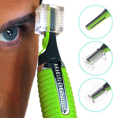 Nose Ear Face Hair Trimmer Shaver Clipper Cleaner Health Care with Led Light HOT