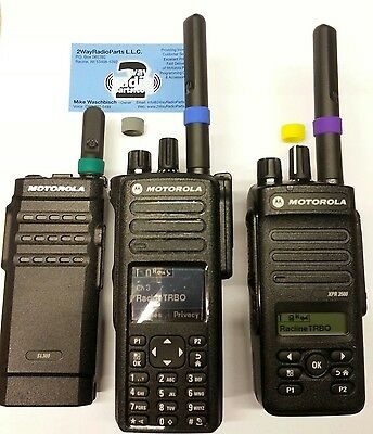 Motorola MotoTRBO Color ID Bands 5 pack Combo (XPR7550, XPR3500, SL300 vhf uhf)