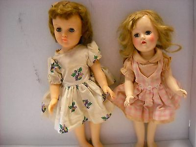 1949 Ideal Toni P-91  Hard plastic 14 inch and  Ideal  P91 16 inch soft 2 in lot
