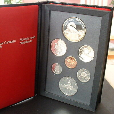 CANADA  1986   PROOF DOUBLE DOLLAR SET  ***7 COINS***