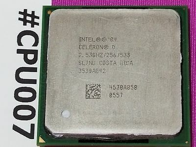 Intel Celeron D  2.8Ghz SL7NW  Socket PPGA478 Processor
