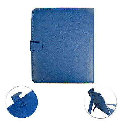 Generic 9.7' inch Micro USB Leather Keyboard & Cover Case For 4:3 Tablet PC Blue