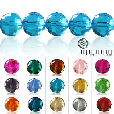 100pcs Wholesale Crystal Loose Beads Disco Ball DIY fit Jewelry Making 6mm