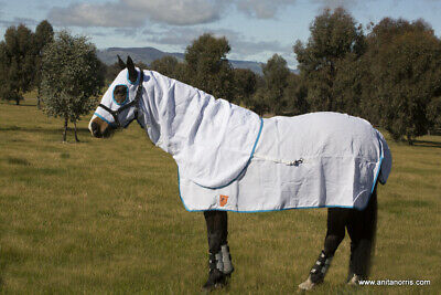Capriole Cotton Flag Cloth Summer Horse Hood Rug