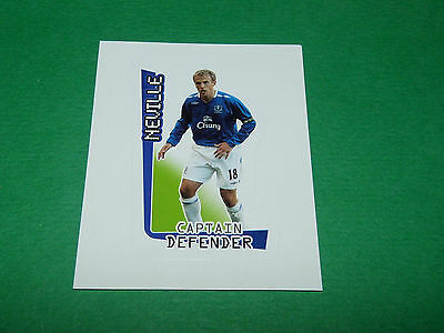 MERLIN-2008-F.A.PREMIER LEAGUE 08 #246-EVERTON-MANCHESTER UNITED-PHIL NEVILLE
