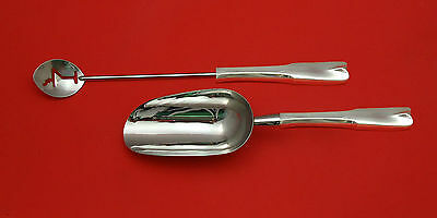 Colonial Theme by Lunt Sterling Silver Bar Set 2pc HHWS  Custom Made