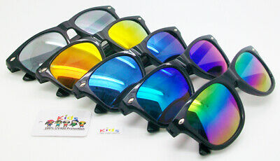 Wholesale Lots 12 Pairs Neon Colors Wayfarer With Cali On Side UV 400 Protection