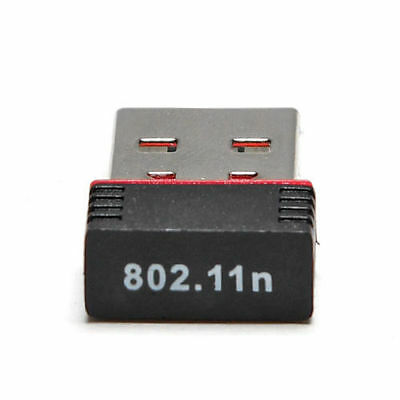 Red Mini 150M USB WiFi Wireless LAN Adapter Network 150Mbps 802.11 n/g/b Hotest