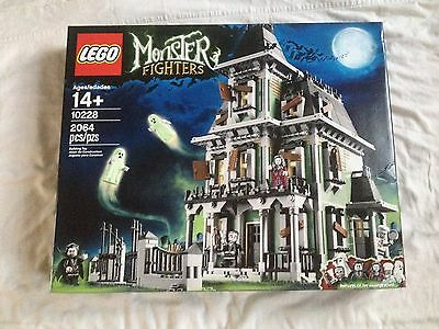 NEW/SEALED LEGO Monster Fighters Haunted House 10228 *Discontinued, RARE*