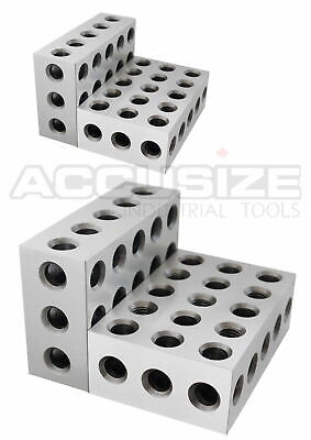 "2 Sets (4 Pcs) of Precision 1-2-3 Block x 0.0001""/ Inch, #EG02-0411x2"