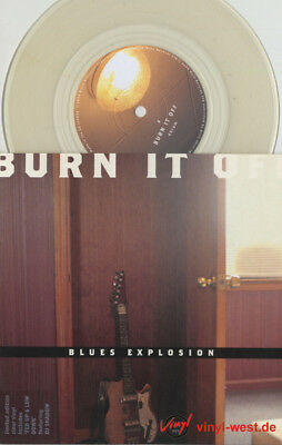 """7""""Blues Explosion - Burn It Up / Fed Up And Low Down MUTE 327 DJ SHADOW…M"""