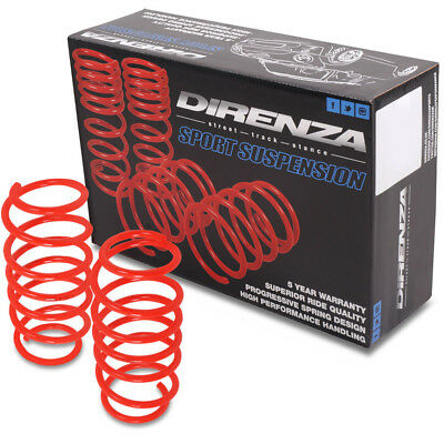 DIRENZA LOWERING SPRINGS TRACK STANCE SUSPENSION 35mm FIAT 500 rear engine