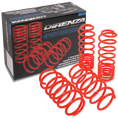 DIRENZA TUV LOWERING SPRINGS TRACK STANCE SUSPENSION 30mm AUDI TT COUPE 1.8T 8N