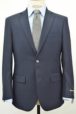 Men's Navy Blue 2 Button Slim Fit Suit SIZE 38S NEW