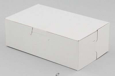 100 Bakery Cookie Eclair Box 6-1/4 x 3-3/4 x 2 White *Made in USA*