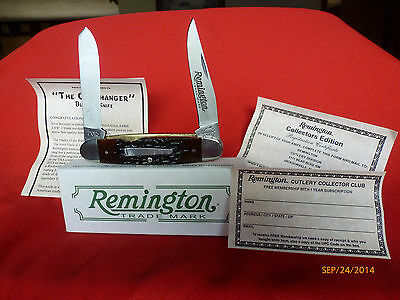 "REMINGTON 2015 ""THE CLIFFHANGER"" R-4466 BULLET KNIFE - NEW IN BOX"