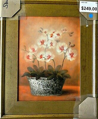 Cheovan! Soft Floral- ORIGINAL Oil Painting on Canvas, Hand Signed and Framed!