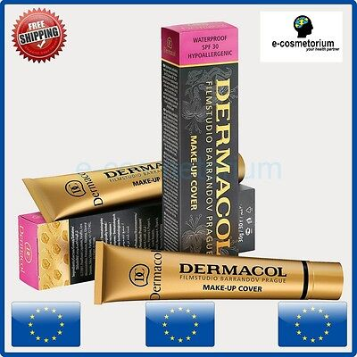 2 x Dermacol Make Up Cover - High Covering Make-up - Film Studio Camouflage
