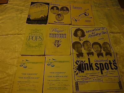 Vintage Play/Music Souvenirs 1950s to 1970s ( Group of 8 ) signed... mixed lot