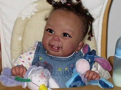 "NIP-discontinued  Tinneke Janssens ""Whitney"" reborn doll kit-COA LOW KIT #! #02!"