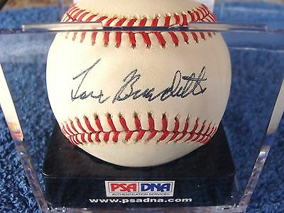 Lew Burdette Signed Official National League Ball, 1957 W.S. MVP