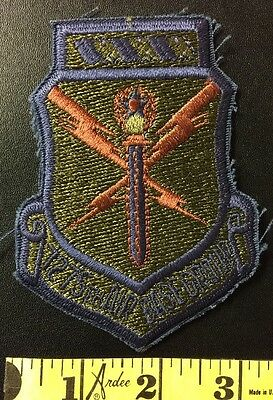 MILITARY PATCH 7275th AIR BASE GROUP SWORD LIGHTING STAR