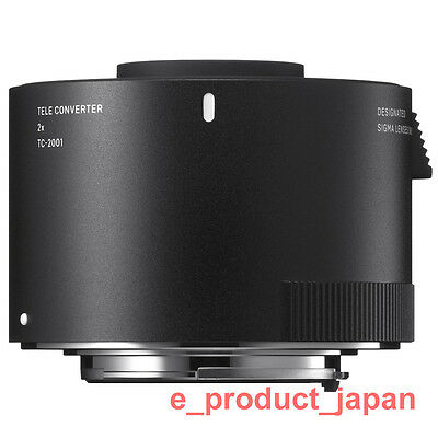 New!  Sigma TC-2001 2x Teleconverter Dust and Splashproof AF f/8 for Canon EF