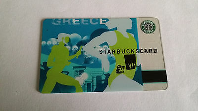 Starbucks Gift Card Greece Summer Olympics 2004 NO VALUE Collectible
