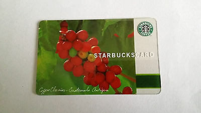 Starbucks Gift Card Coffee Cherries 2005 Original NO VALUE Collectible