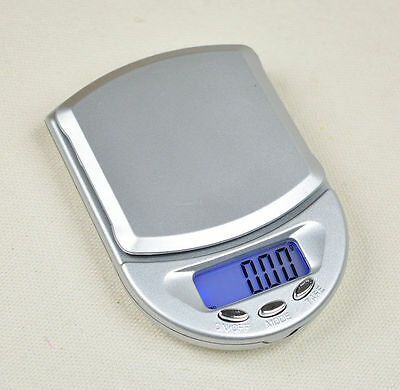 200g / 0.01g Jewelry Digital Electronic Pocket Scale Diamond Weight LCD WFEU