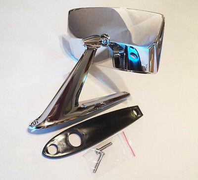 VINTAGE CHROME DOOR MIRROR FORD LINCOLN MERCURY MUSTANG TORINO FALCON COUGAR NEW