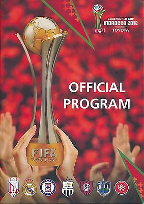 FIFA CLUB WORLD CUP 2014 Official Programme in ENGLISH