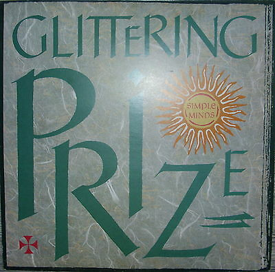 """12"""" Inch Maxi Simple Minds,NM,cleaned Glittering Prize Virgin VS 511-12 A"""