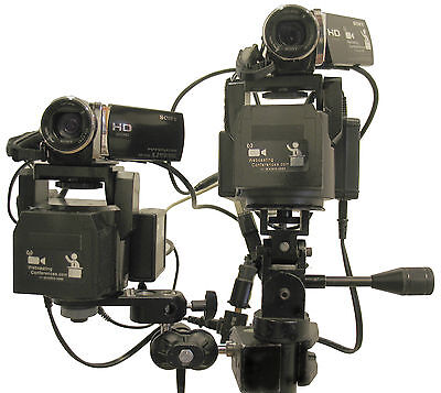 Webcasting PTZ  Pan/Tilt/Zoom System for LANC camera (without cameras)