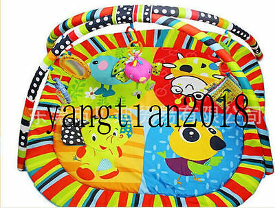 Happy bird music game blanket game pad 0-1 infant baby toys