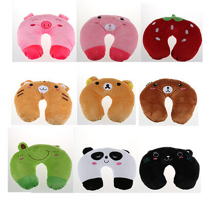 Baby Kid Infant Toddler Car Travel Neck Saver Protector Support Animal Pillow