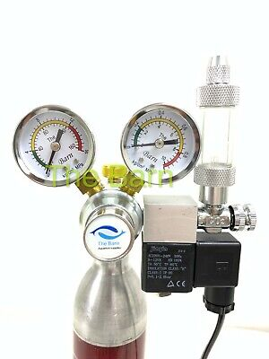 The barn Co2 regulator magnetic solenoid valve dual stage planted aquarium UK