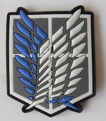 Attack on Titan - Investigation Corps Badge Wings of Freedom   Patch SJ+199