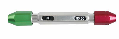 """0.011-0.0605"""" Go/No Go Double End Gage Handle for Pin Gages, #3350-0100"""