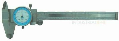 """6x0.001/1/64"""" Stainless Steel Fractional Dial Caliper in Fitted Case, #P132-2150"""
