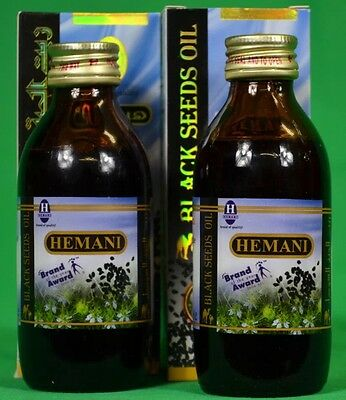 Hemani Black Seed Oil 100% Pure Nigella Sativa Pack Of 2 New And Exclusive