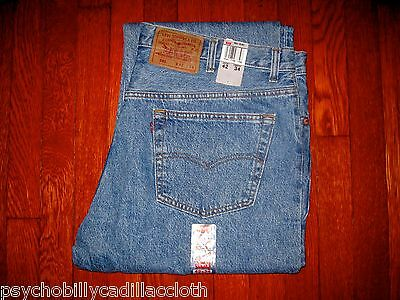 BRAND NEW WITH TAGS DEADSTOCK MADE IN THE USA ORIGINAL LEVI'S 501 JEANS  (42x34)