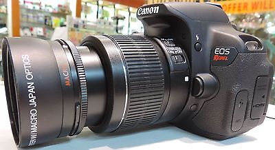 2x TELEPHOTO LENS FOR CANON EOS REBEL T3 T3I T4 T4I T5  KISS-X4 X5 20D 40D 18-55