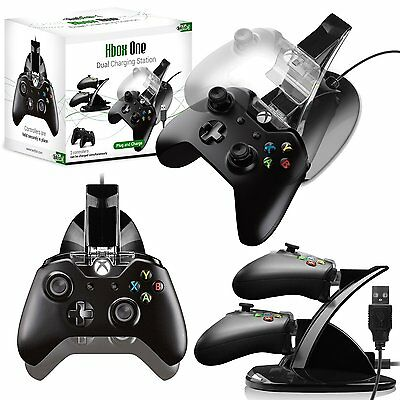 Microsoft Xbox One Controller Dual Charging Dock USB by Twitfish