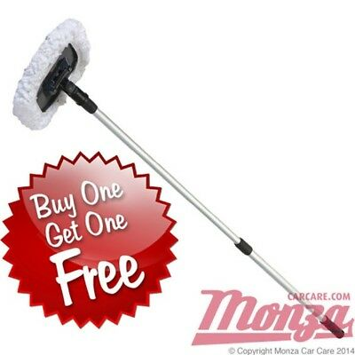 Monza Ultra Plush Telescopic Car Wash Mop **CARAVAN, MOTORHOME, LARGE 4X4 ETC**