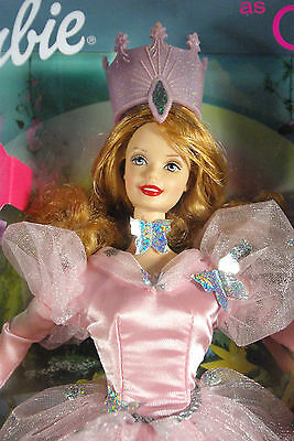 Barbie Doll By Mattell As Glinda From The Wizard Of Oz B2-73 Talks & Makes Sound