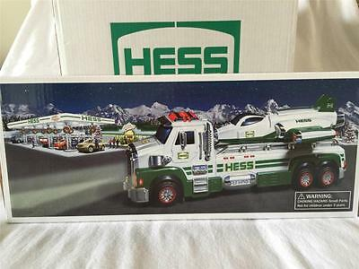 Hess 2014 Hess Toy Truck And Space Cruiser W/scout W/bag+Batteries Brand New