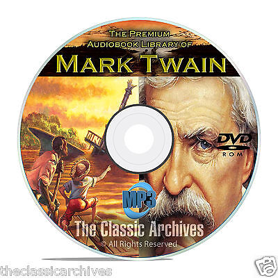 Mark Twain - 100 Audiobooks Collection, Classic Literature, Huck Finn ++ DVD B74