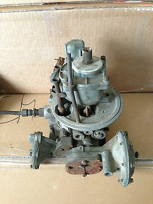 VINTAGE HOLLEY 4 BARREL CARBURETOR  12R-144BB   (TEAPOT)